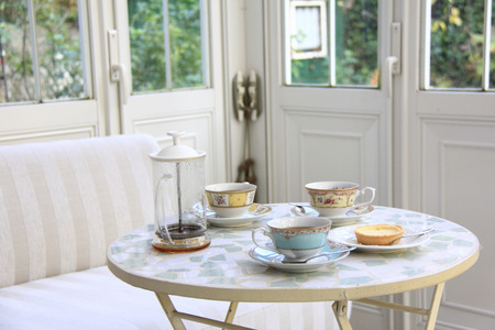conservatory: Tea-time of the Conservatory