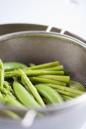 leguminosae: Peas and asparagus
