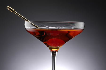 sweet vermouth: Cocktail Manhattan