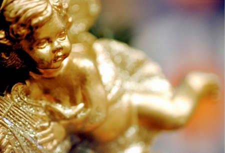 annual events: Gold angel doll