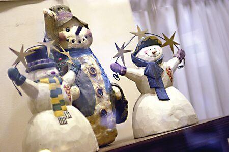 figurines: Snowman Figurines