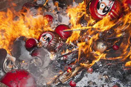 you are fired: Raise New Year decorations you fired
