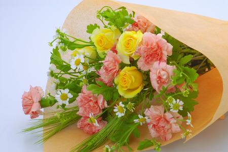 bouquet fleurs: Carnation bouquet