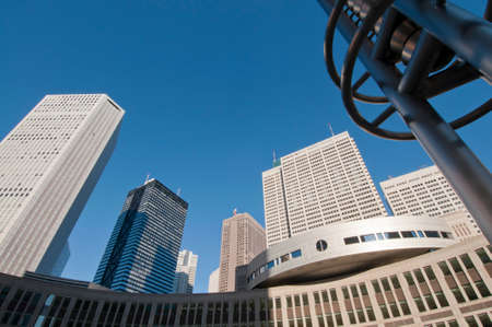 metropolitan: Shinjuku Metropolitan Government and the group of buildings