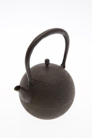 necessities: Iron kettle Stock Photo