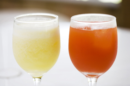 pineapple juice: Pineapple juice and acerola juice