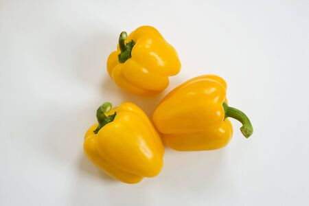 pimenton: Pimentón amarillo  Foto de archivo