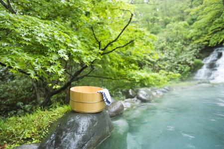 hot spot: Fresh bath Stock Photo
