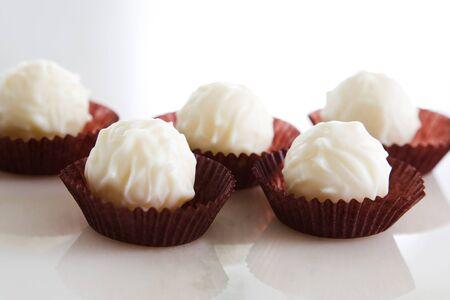 truffe blanche: Chocolat