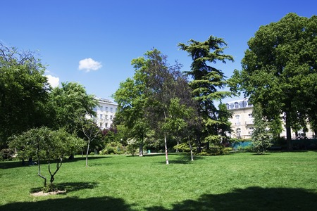 bois: Bois de Boulogne and apartments