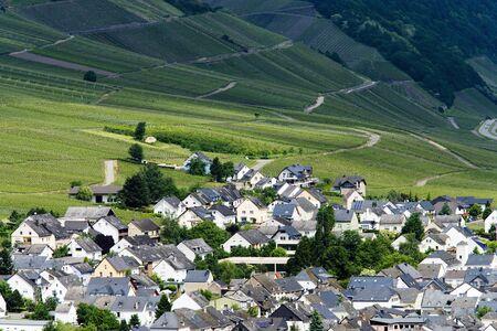 garden settlement: Moselle region of vineyards and villages