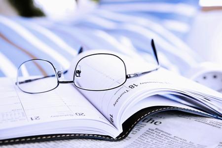 メガネと日記