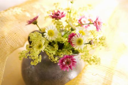 petites fleurs: Petites fleurs et le vase