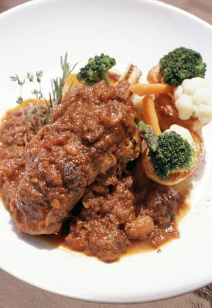 chop: Lamb chop