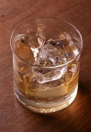 alchoholic: on the rocks