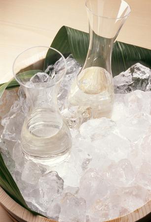 alchoholic: Cold sake