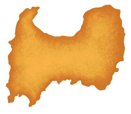 Toyama Prefecture map