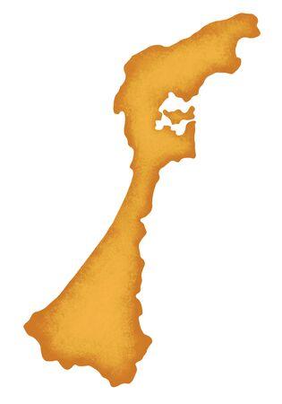 ishikawa: Ishikawa Prefecture map