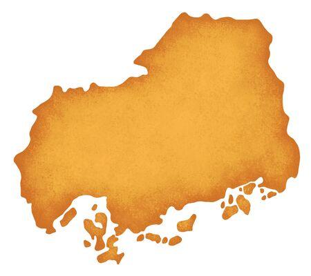 prefecture: Hiroshima Prefecture Map