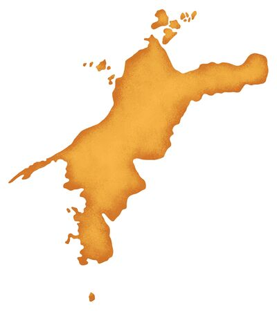 shikoku: Ehime Prefecture map