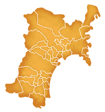prefecture: Miyagi Prefecture border containing map