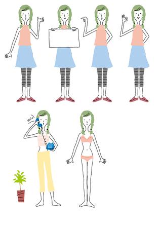 Women lifestyle Banco de Imagens