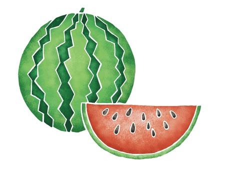 provisions: Watermelon Stock Photo