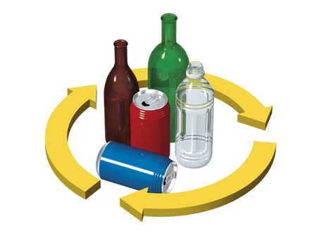 recycling: Recycling Stock Photo