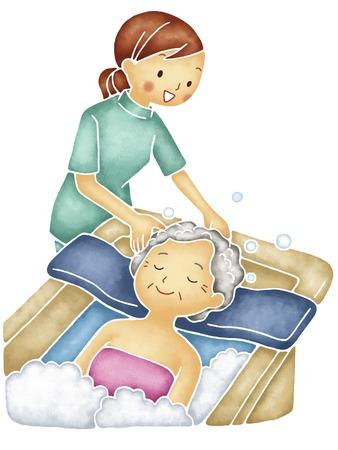 入浴の援助