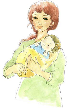 maternal: Mom Stock Photo