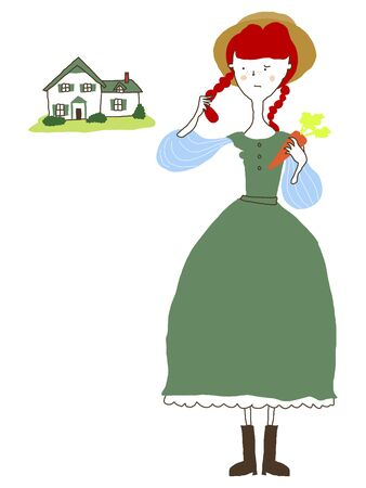 gables: Anne of Green Gables Stock Photo
