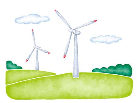 wind power: Wind power generation