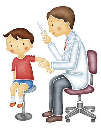 into: Doctor injected into children