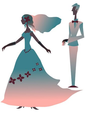 wedding: Wedding Silhouette