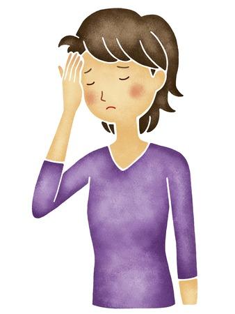 suffer: Women suffer from headaches