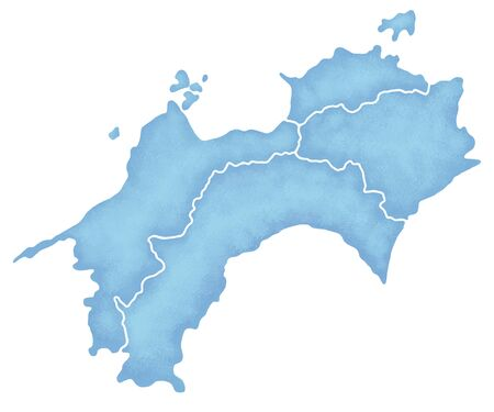 shikoku: Shikoku map