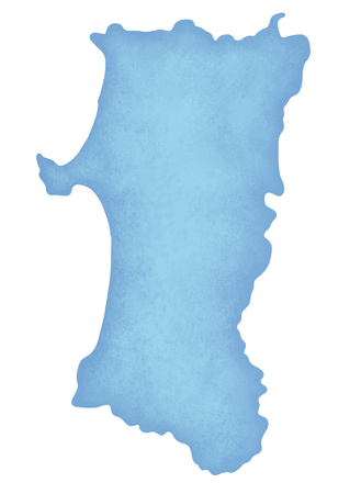 akita: Akita Prefecture map