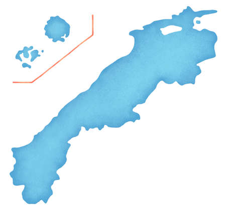 prefecture: Shimane Prefecture map