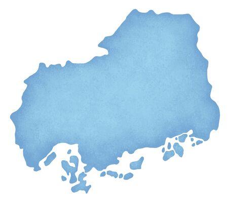 hiroshima: Hiroshima Prefecture Map