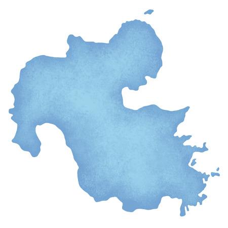 kyushu: Oita Prefecture Map