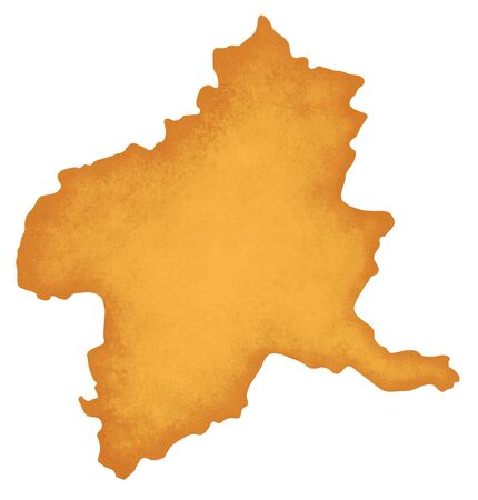 Gunma Prefecture map