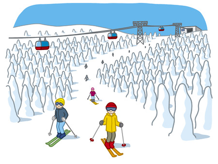 ski resort: Yamagata Zao Onsen Ski Resort