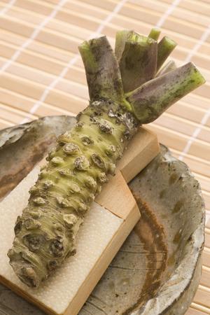 wasabi: Raw wasabi