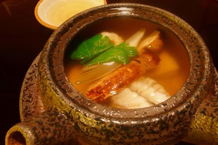 earthenware: Earthenware teapot steamed Stock Photo