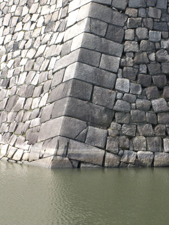 moat wall: Outer moat of Osaka Castle