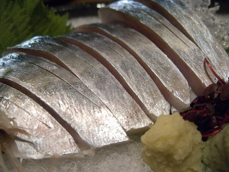 arise: Mackerel raw sushi