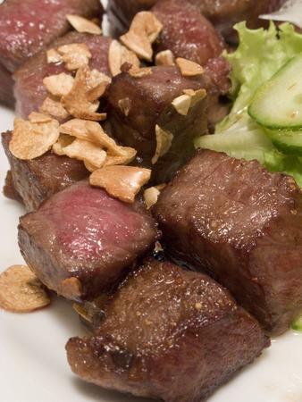mouthful: Mouthful steak