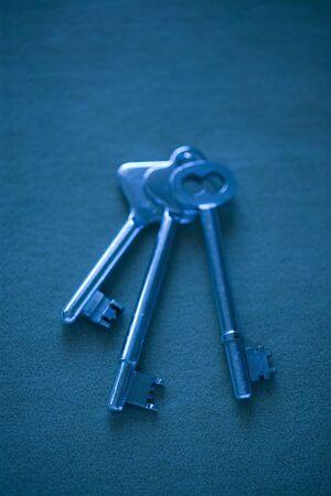 long  ago: Old key