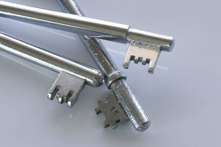 plating: Old key