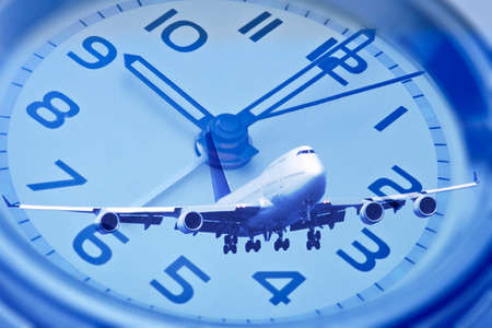 synthesis: Synthesis of the airplane and watch